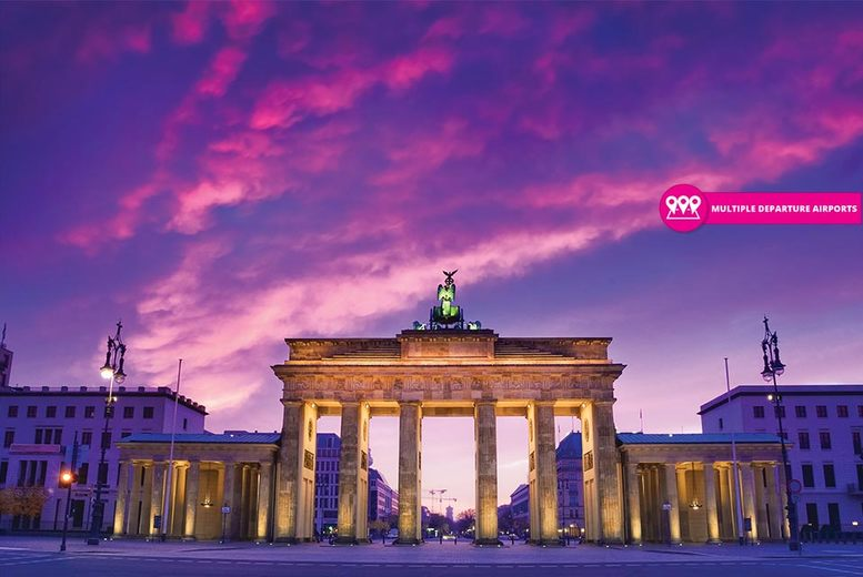 Cultural 4* Berlin City Escape including Breakfast & Flights