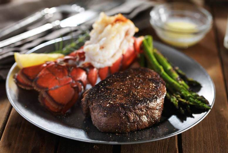 3* or 4* London Stay, Breakfast & 3-Course Dinner @ Steak and Lobster