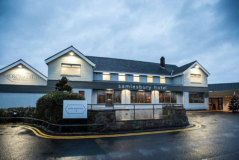 4* Lancashire Break, Dining & Breakfast for 2 @ Samlesbury Hotel