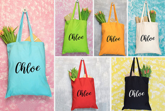 c226eb16f6b €4.99 instead of €17.09 (from Personalised Gifts Markets) for a personalised  tote bag - save 71%