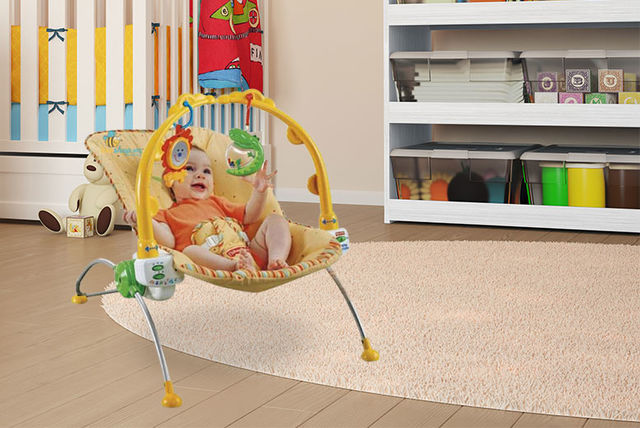 Fisher Price Rocking Baby Bouncer with music