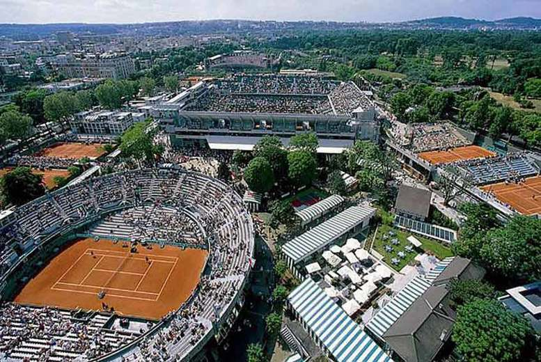 Tennis - Roland Garros French Open or Rolex Monte-Carlo Masters & Hotel Stay
