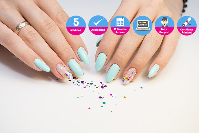 Accredited Nail Technician & Nail Art Online Course | Shopping ...