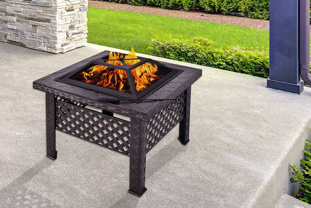 £44 Instead Of £143 (from FDS) For An Outdoor Fire Pit Patio Heater   Save  69%