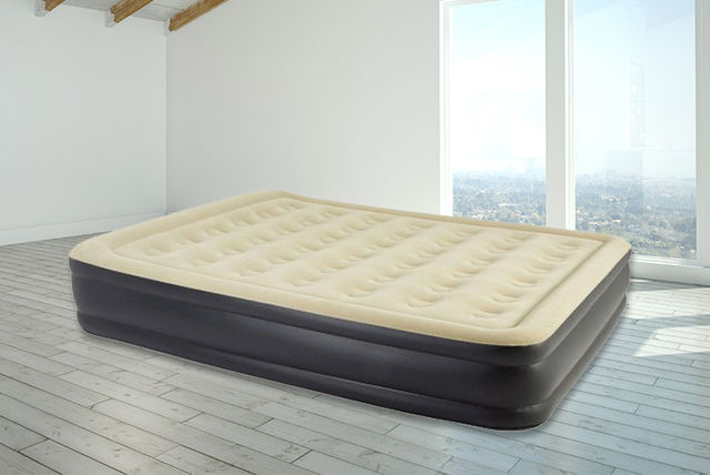 Inflatable High Raised Air Bed 2 Sizes Shopping Livingsocial