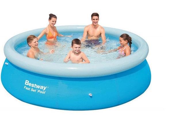 8ft Bestway Swimming Pool   Shopping   LivingSocial