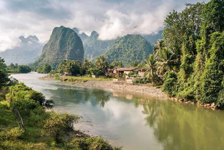 12 Days Laos & Cambodia Adventure Tour, Accommodation & Transfers