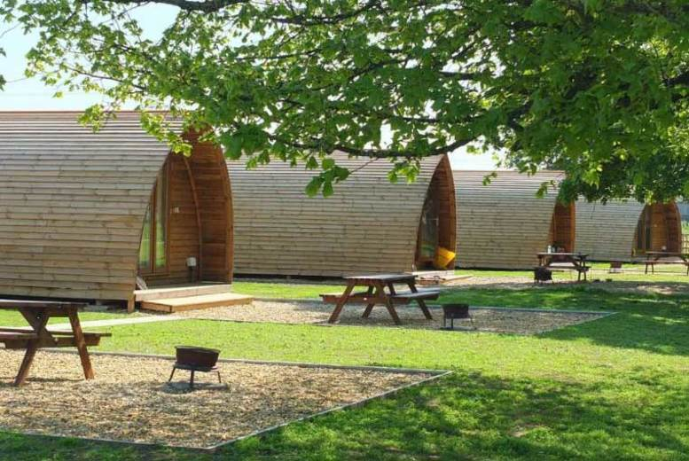 2-3nt Lincolnshire Wigwam Holiday for up to 4