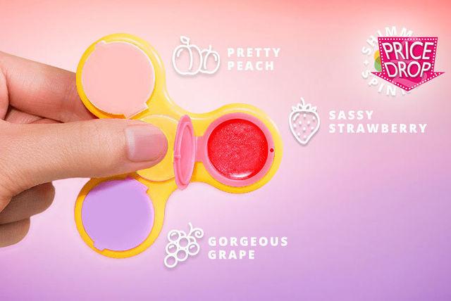 Shimmer Spinner Lip Gloss Fid Spinner
