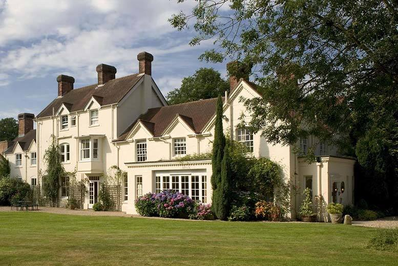 Hampshire Country House, 3-Course Dinner, Breakfast, Tea & Scones
