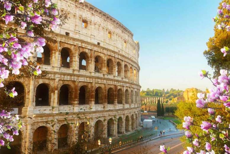 2-3nt Central Rome Escape and Flights - Near The Colosseum!