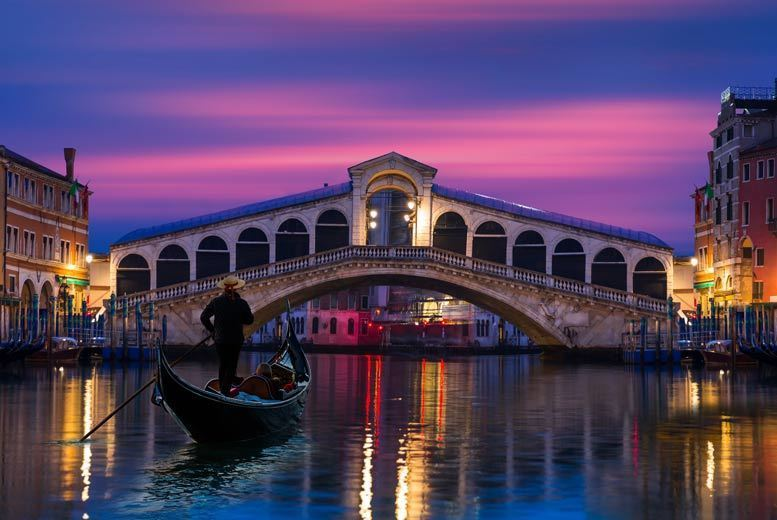 2-3nt 4* Venice with Flights & Breakfast - Venice Gondola Upgrade!