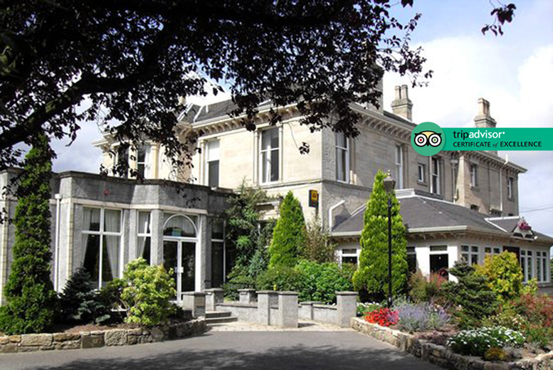 4* The Grange Manor Stay, 2-Course Dining, Wine & Breakfast for 2