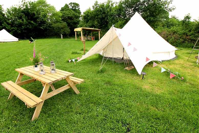 Glamping Stay For Up To 4, Pembrokeshire