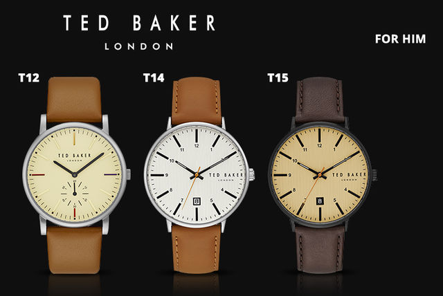 25e19ae2b Ted Baker Watches - 15 Styles for Men and Women! From £49 instead of from  £121.01 (from Brand Arena) for a Ted Baker watch ...