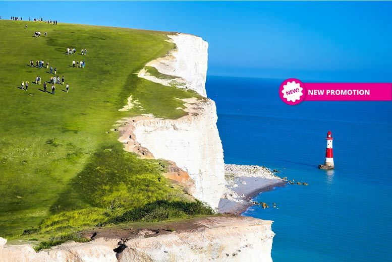 Eastbourne Seaside Getaway, Breakfast & Bottle of Wine for 2