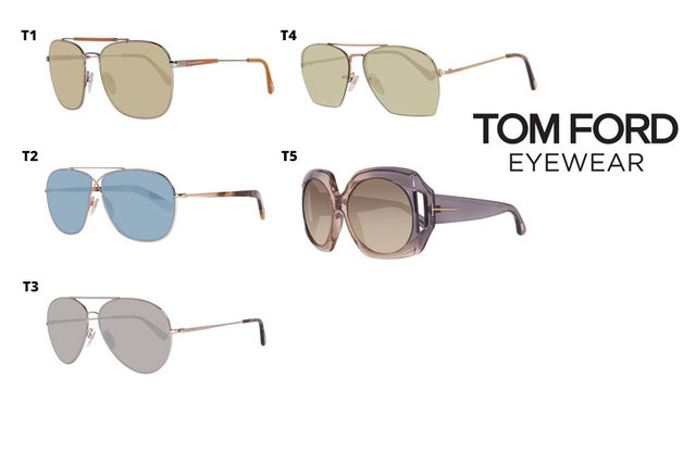 a2e650fa45 Tom Ford Shades - 10 Designs!