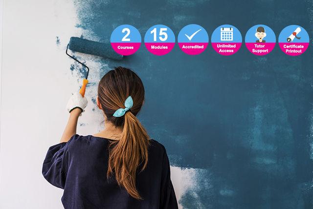 Interior Design Painting Decorating Bundle Courses Deals In