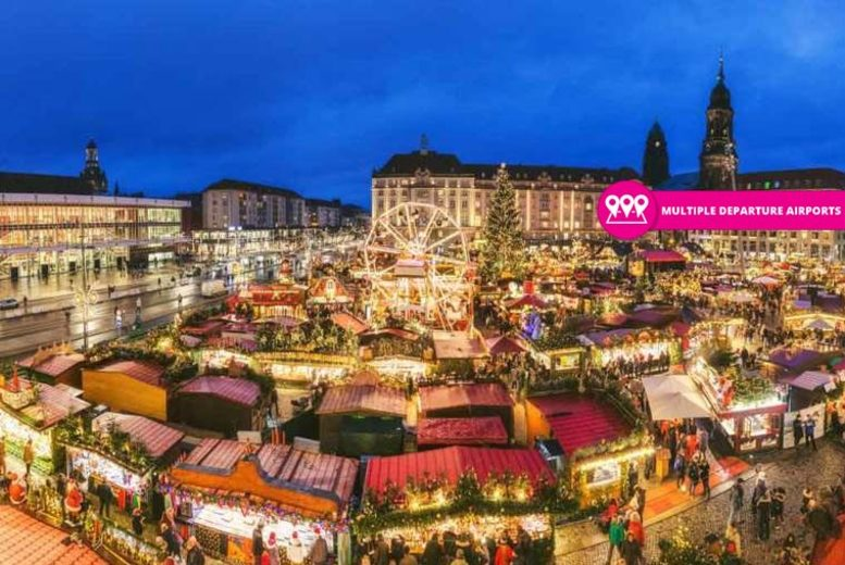 2nt European Christmas Market Escape & Flights - 18 Locations!