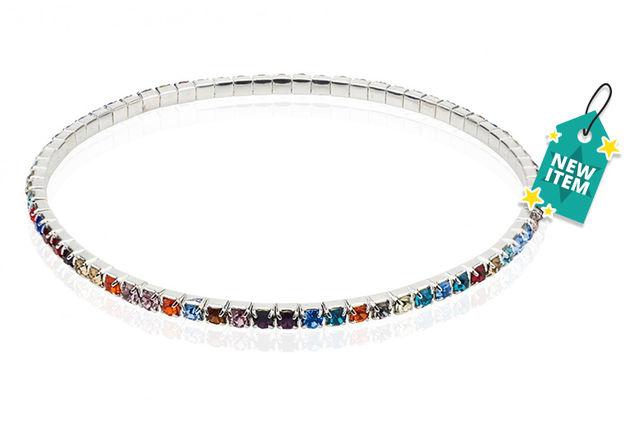 Rainbow Tennis Ankle Bracelet Jewellery Deals In Shopping