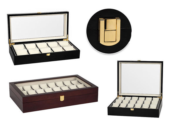 5fc8c0998265 Collector s Luxury Leather Wristwatch Box - 3 Options!