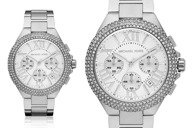 853d52f3ed9 £109 instead of £292.01 (from Mimo Deals) for a ladies  Michael Kors MK5634  Camille stainless steel watch - save 63%
