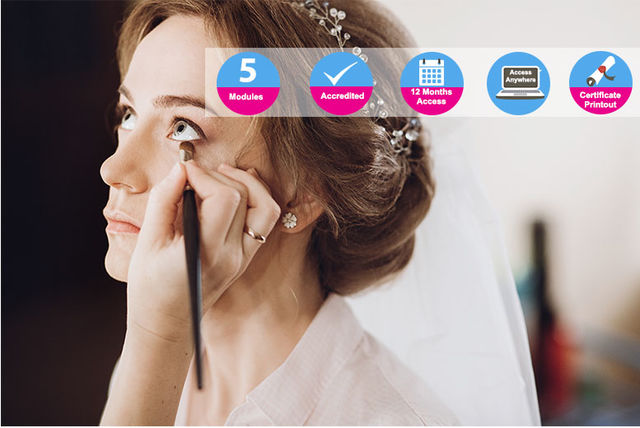 Accredited Bridal & Special Occasions Makeup Course - Online!