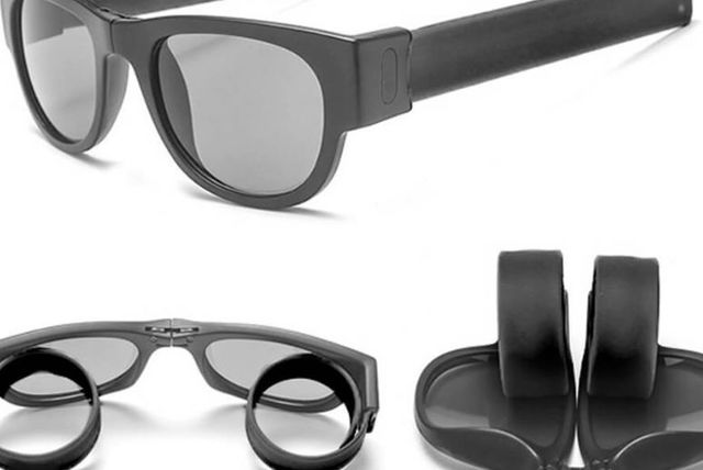 e0b5caf80a0 £4.99 instead of £14.99 for slap and fold unisex sunglasses from Forever  Cosmetics - save 67%