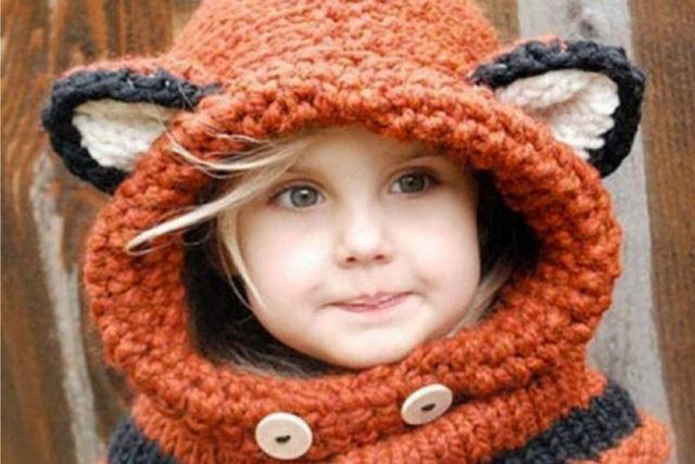 26cea798a Kids' Animal Hat & Scarf Set | Shopping | LivingSocial