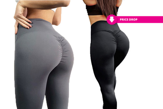 f230b17f61813 £14.99 instead of £34.99 (from Treats on Trend) for a 'scrunch bum' style  fitness leggings - save 57%