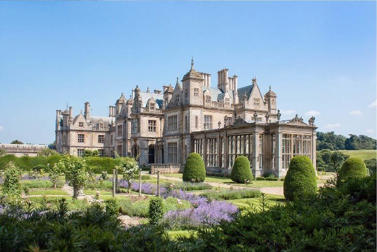 Stoke Rochford Hall Stay with Breakfast & Leisure Access for 2