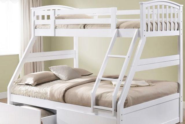 Wooden 3 Sleeper Bunk Bed Shopping Livingsocial