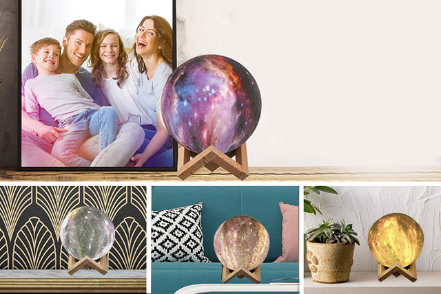Touch Control Galaxy Sphere Lamp | Shopping | LivingSocial