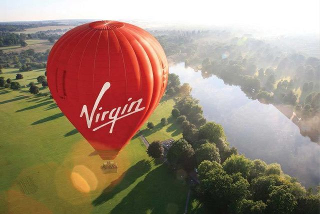 Virgin Hot Air Balloon Voucher