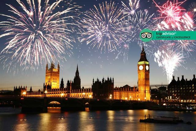 Places to Stay close to firework display on NYE