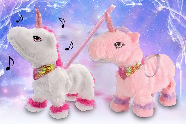 Walking Unicorn Toy Shopping Livingsocial