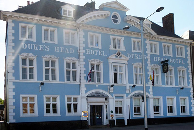 1-2nt King's Lynn Stay & Dining for 2 @ 4* Dukes Head Hotel