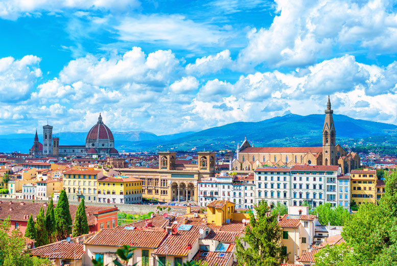 2-3nt Florence City Getaway & Flights - Optional Tasting Session!