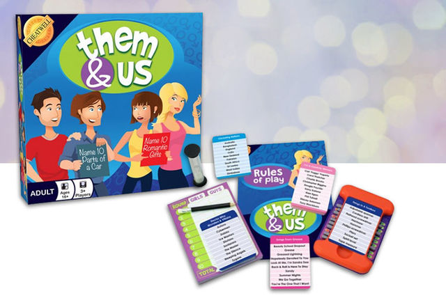 EUR999 Instead Of EUR1683 From Cheatwell Games For A Them Us Adult Card Game