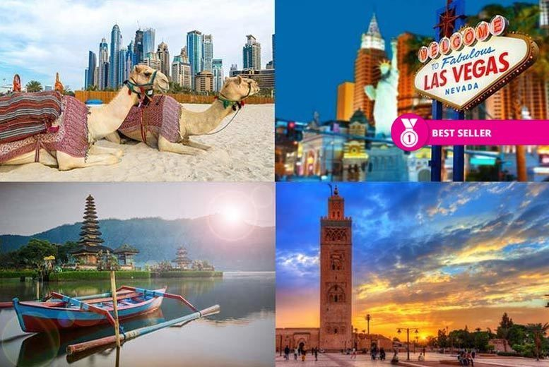 Mystery Holiday - Bali, New York, Dubai, Marrakech & More!