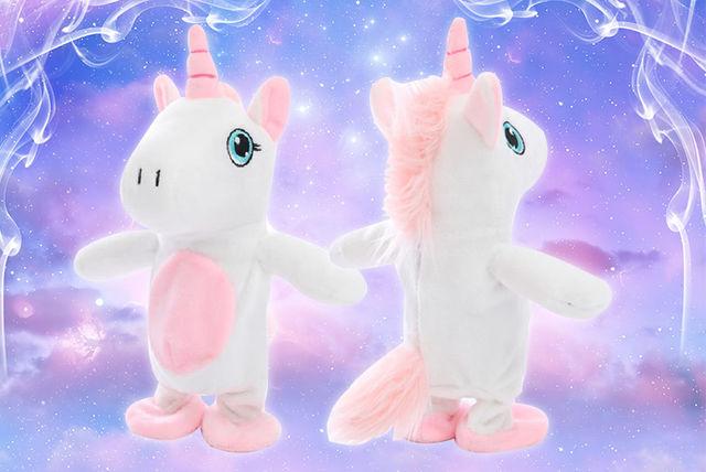 Talking Unicorn Stuffed Toy Toys Deals In Shopping Livingsocial