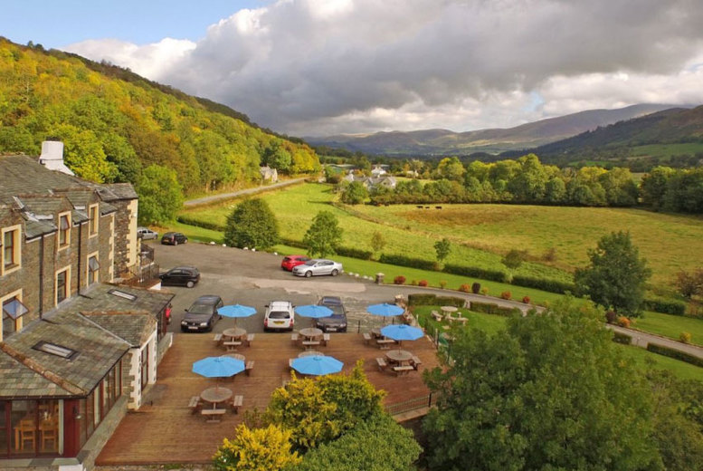 2-3nt Lake District Spa Stay for 2 with Breakfast, £30 Dinner Credit & Wine