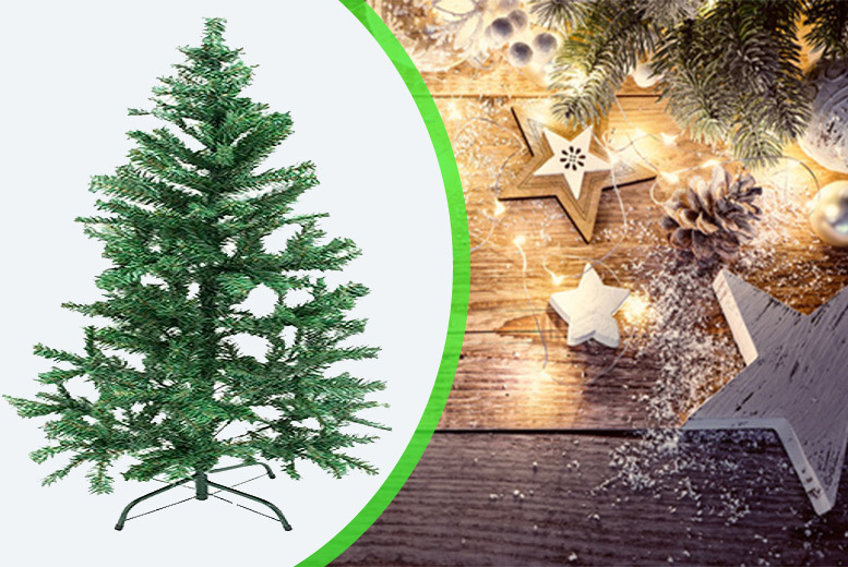 Image of From £12.99 for a 4ft or 5ft (£14.99) artificial christmas tree from Ckent Ltd - save up to 57%