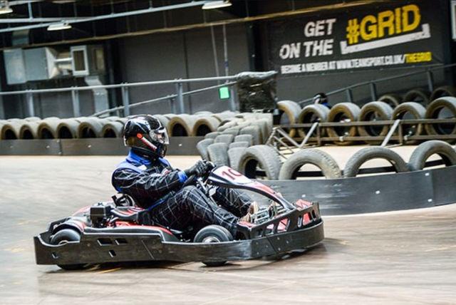 Indoor Go Karting Voucher | London | LivingSocial