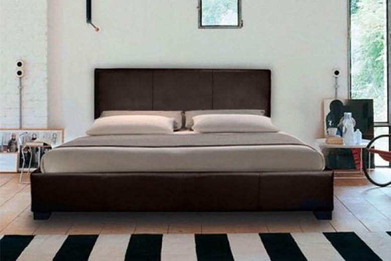 From £39 (from The Bed Outlet) for a modern faux leather bed, or from £49 for a faux leather bed with a mattress – choose between four sizes, three colours and a spring or memory mattress, saving up to 86%