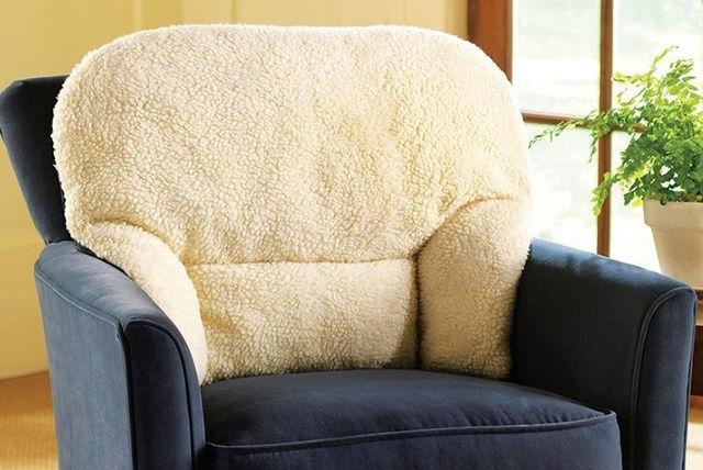 Fleece Back Support Cushion Shopping Livingsocial
