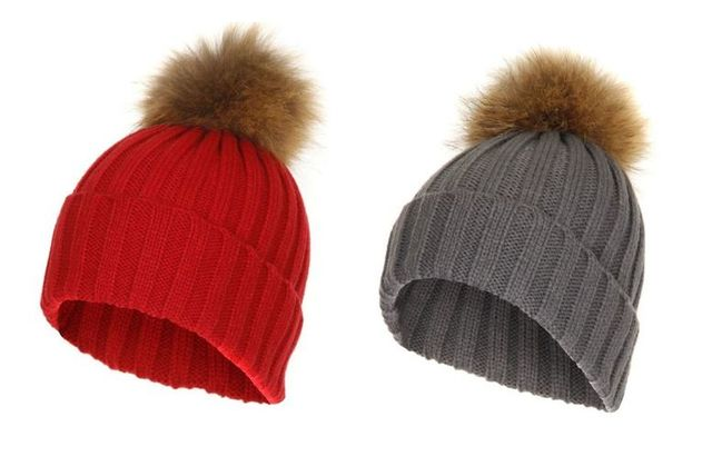 b942aa3f61f £3.99 instead of £30 for a faux fur pom-pom hat - choose from four colours  from Boni Caro - save 87%. deal over! sold out