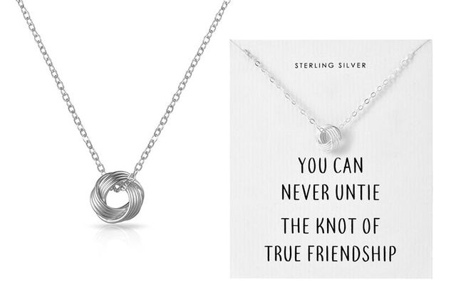 30eaf5ab9 £8.99 instead of £35.99 (from Phillip Jones) for a Phillip Jones Sterling  silver knot necklace - save 75%
