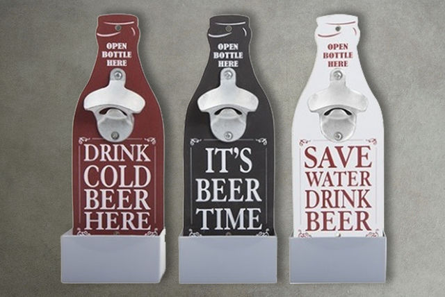 669955df69 Wall-Mounted Bottle Opener - 3 Colours!