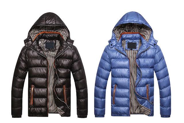 e215c78c85b Hooded Padded Jacket